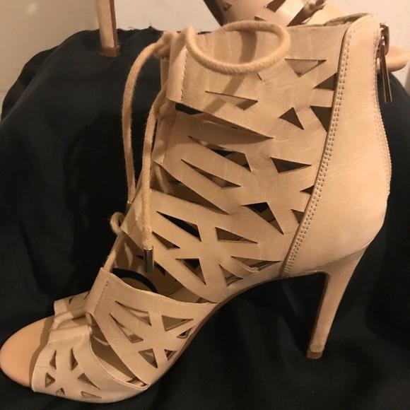 e16cac7e516 Jessica Simpson Shoes - ⬇  35 Jessica Simpson Emerita lace up heels size 7